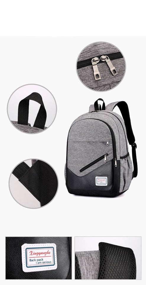 Student Backpack Set From 3 Pcs With Large Capacity