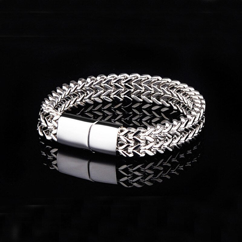 Rock Style Stainless Steel Bracelet - GiftWorldStyle - Luxury Jewelry and Accessories