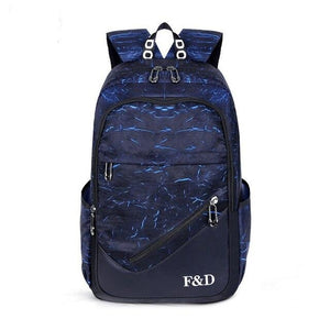 Waterproof School Backpack With 15.6 inch Capacity, Zippers - GiftWorldStyle - Luxury Jewelry and Accessories