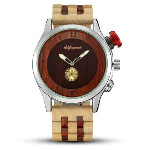 Waterproof Quartz Wooden Watch,Quartz Wristwatches