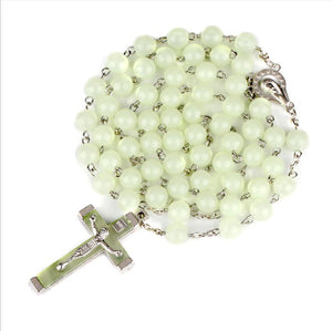 Luminous Christian Catholic Cross Rosary - GiftWorldStyle - Luxury Jewelry and Accessories