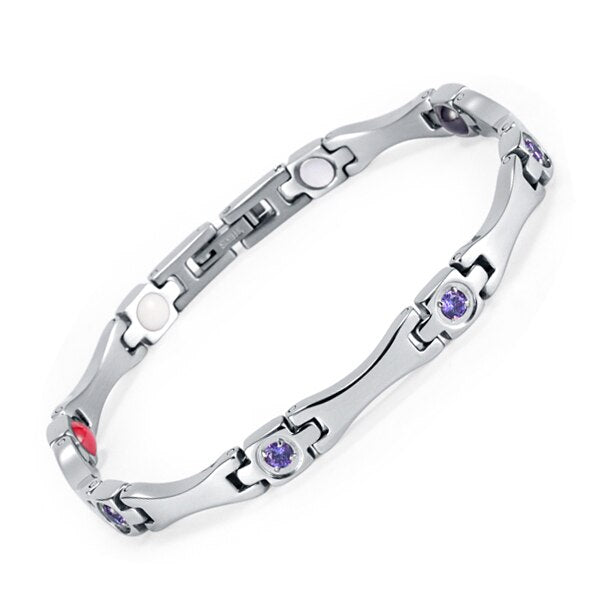 Elegant Energy Magnetic Bracelet - GiftWorldStyle - Luxury Jewelry and Accessories