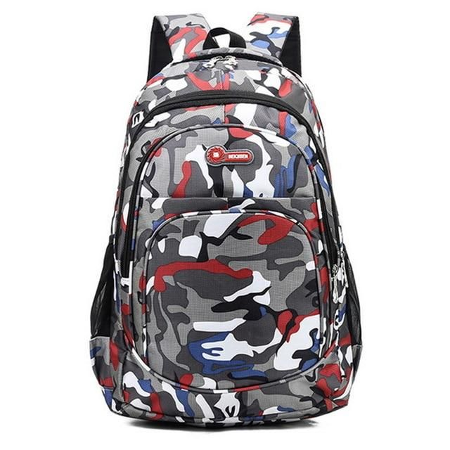 3 Pcs Boy School Bag With Matte Pattern,Waterproof - GiftWorldStyle - Luxury Jewelry and Accessories