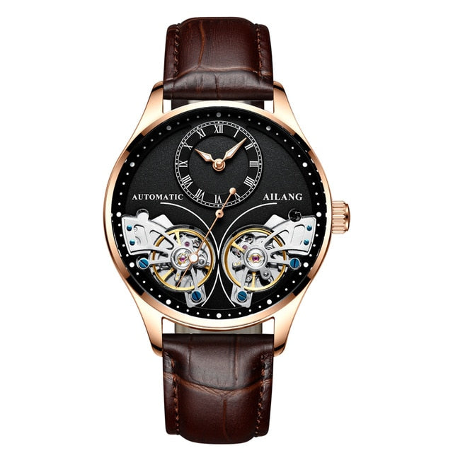 Mechanical Steampunk Watches With Push Button Hidden Clasp, Hardlex - GiftWorldStyle - Luxury Jewelry and Accessories