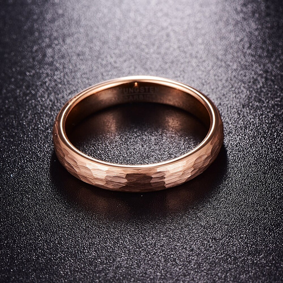 Unisex Geometric Tungsten Carbide Ring - GiftWorldStyle - Luxury Jewelry and Accessories