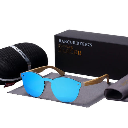 Men 's Sunglasses With Bamboo Frame In Cat Eye Style,Photochromic - GiftWorldStyle - Luxury Jewelry and Accessories
