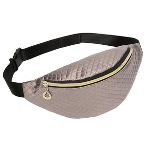 Waist Women Bag With Phone,Money Pouch And One Zipper