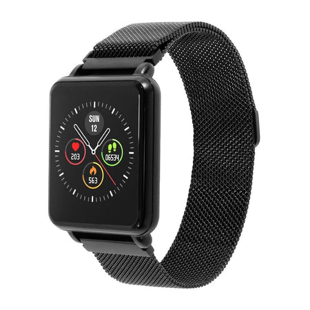 Smart Watch With Touch Screen,Bluetooth And Heart Rate Tracker