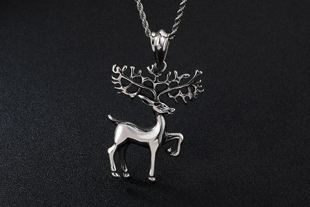 Animal Deer Antlers Necklace - GiftWorldStyle - Luxury Jewelry and Accessories