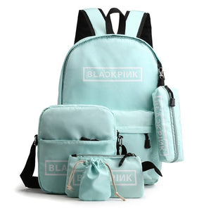 Waterproof School Backpack From 5 Pcs With Large Capacity
