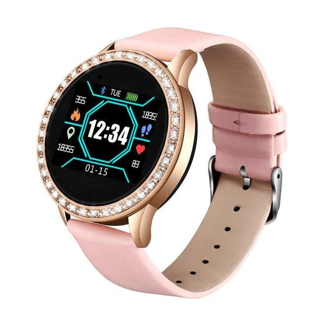 Smart Watch With Monitoring Pedometer With Call Reminder And Remote Control - GiftWorldStyle - Luxury Jewelry and Accessories