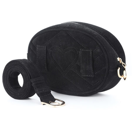 Suede Women Waist Bag In Round Shape - GiftWorldStyle - Luxury Jewelry and Accessories