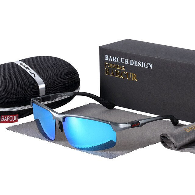 Aluminium Magnisium Men Sunglasses With Polarized,Light Weight - GiftWorldStyle - Luxury Jewelry and Accessories