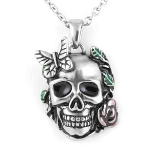 Retro Gothic Skull Necklace - GiftWorldStyle - Luxury Jewelry and Accessories