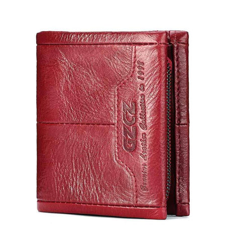 Genuine Leather Women Wallet with Clutch Coin
