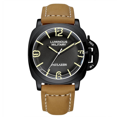 Mechanical Luminous Watch With Automatic Self-Wind, 3 Bar Resistant