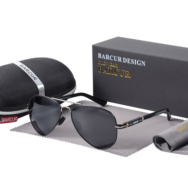 Men's Sunglasses With Sun Protection, Anti-Reflective And Polarized - GiftWorldStyle - Luxury Jewelry and Accessories