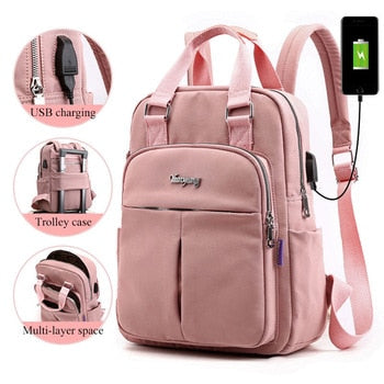 Backpacks For School With USB Charging, Large Capacity - GiftWorldStyle - Luxury Jewelry and Accessories