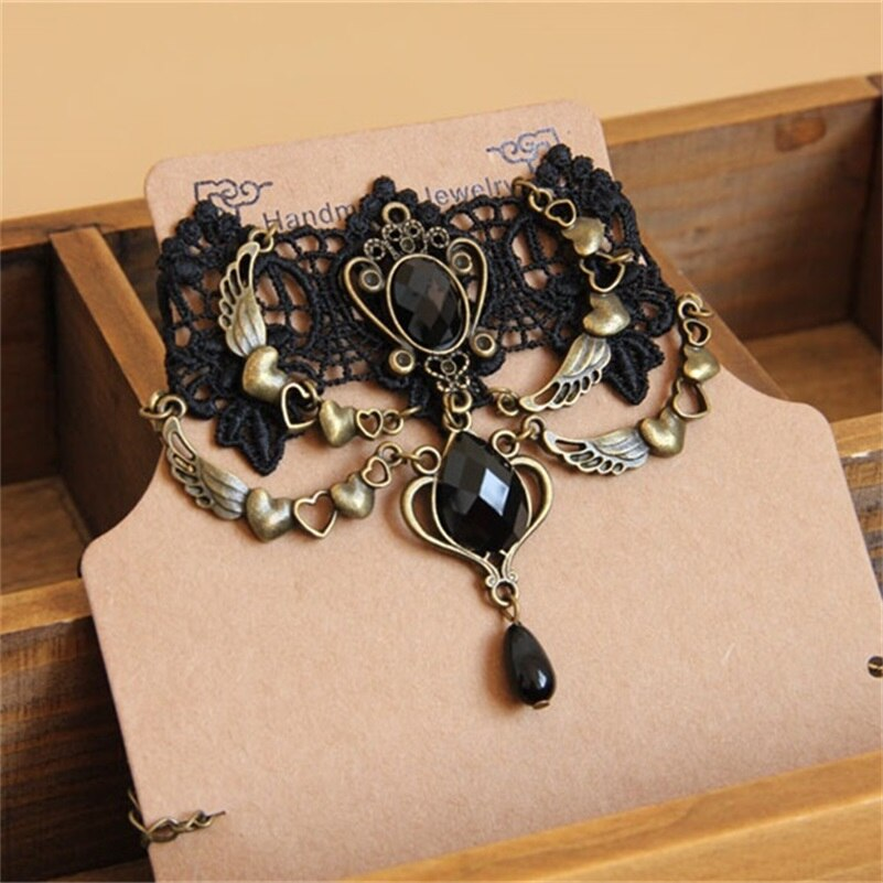 Vintage Gothic Choker Necklace - GiftWorldStyle - Luxury Jewelry and Accessories