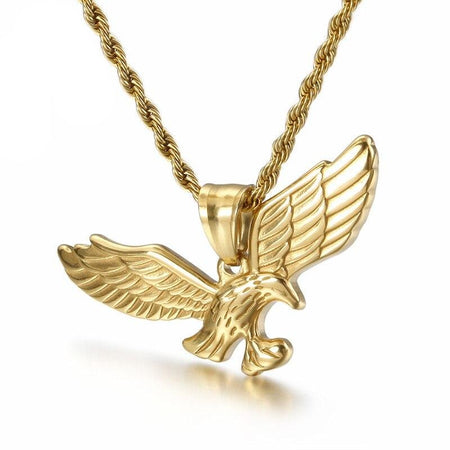 Hawk Eagle Animal Wings Necklace - GiftWorldStyle - Luxury Jewelry and Accessories