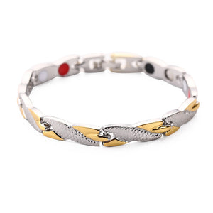 Twisted Health Treatment Magnet Bracelet - GiftWorldStyle - Luxury Jewelry and Accessories