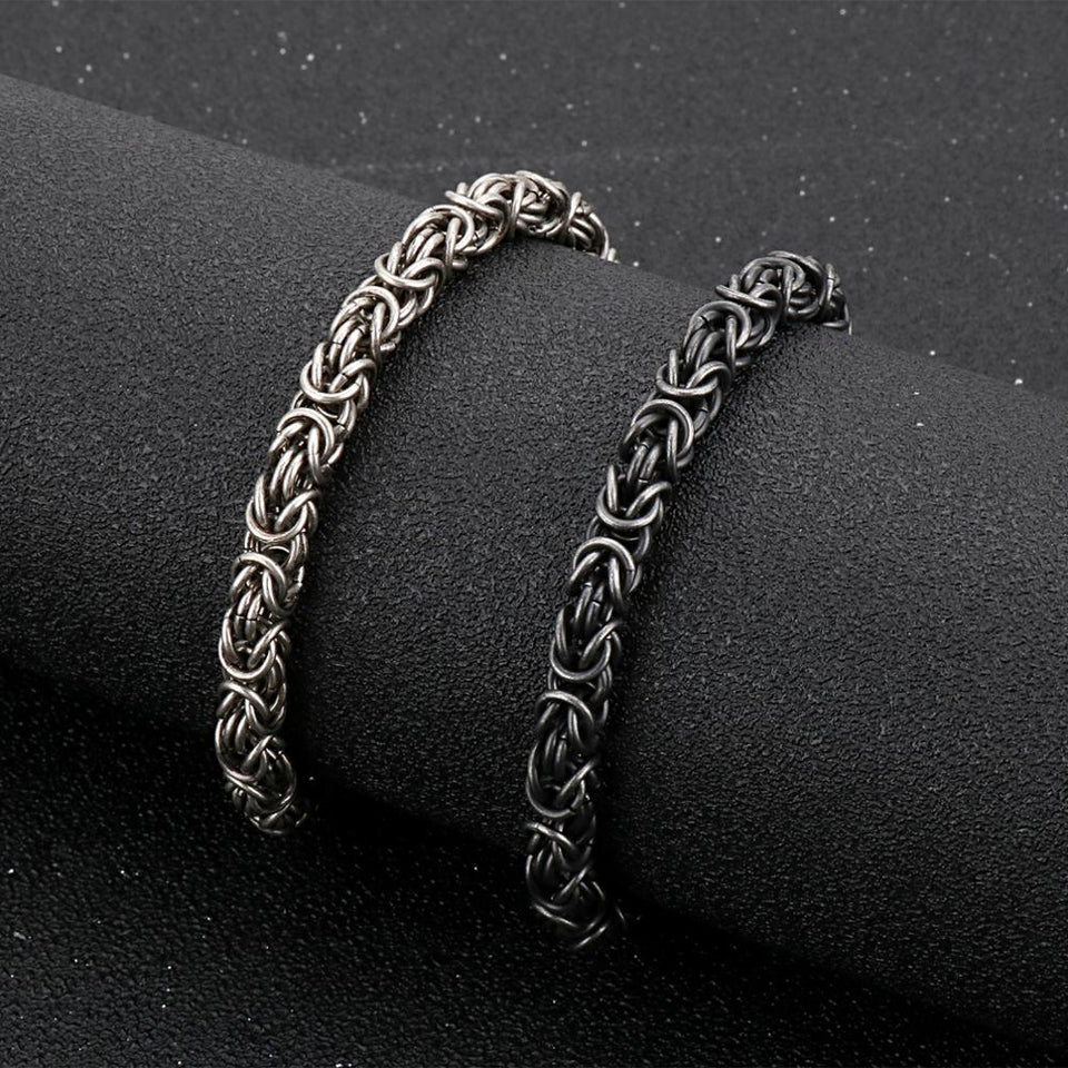 Vintage Chain Bracelet - Stainless Steel - GiftWorldStyle - Luxury Jewelry and Accessories