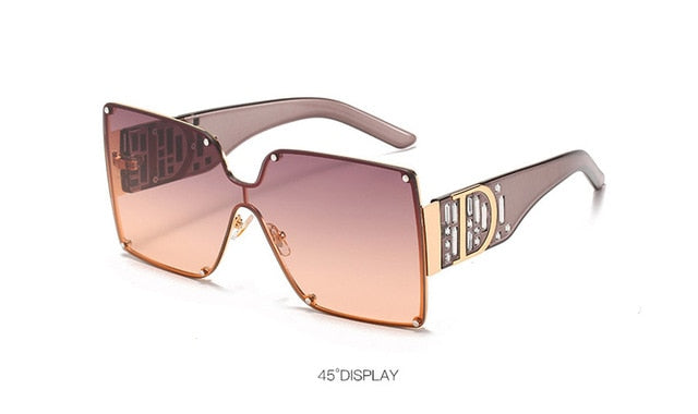 UV400 Square Sunglasses For Women,Polycarbonate And Photochromic - GiftWorldStyle - Luxury Jewelry and Accessories