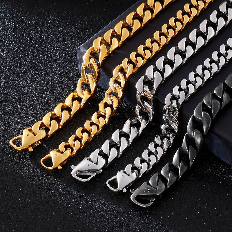 Retro Matte Bike Chain Bracelets - GiftWorldStyle - Luxury Jewelry and Accessories