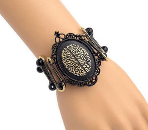 Women's Steampunk Mechanical With Beetle`s Back,Skeleton - GiftWorldStyle - Luxury Jewelry and Accessories