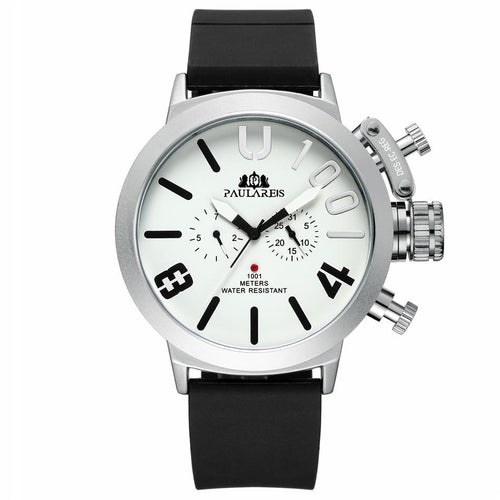 Automatic Self Wind Watch With Complete Calendar And 3 Bar Resistant