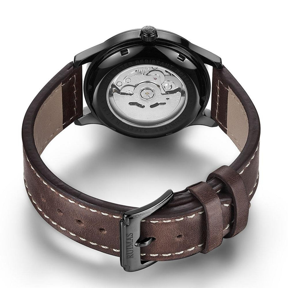 Waterproof Mechanical Watch With Luminous Hands, Stainless Steel, 3Bar - GiftWorldStyle - Luxury Jewelry and Accessories