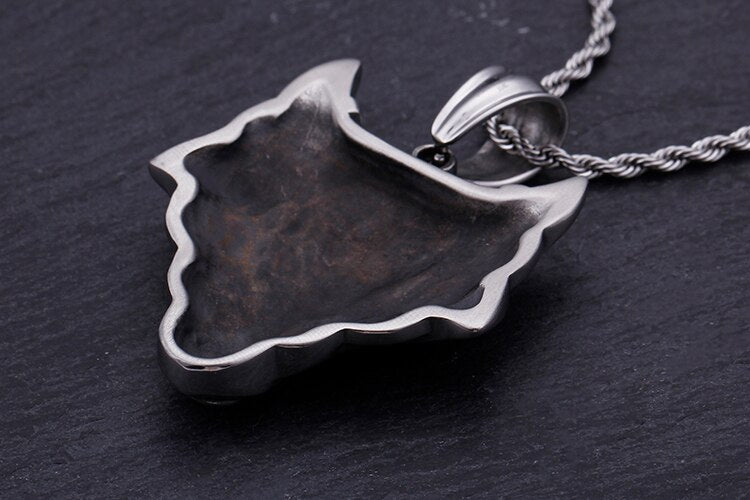 Punk Animal Nordic Wolf Necklace - GiftWorldStyle - Luxury Jewelry and Accessories