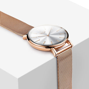 Quartz Women Watch With Hook Buckle, Water And Shock Resistant - GiftWorldStyle - Luxury Jewelry and Accessories