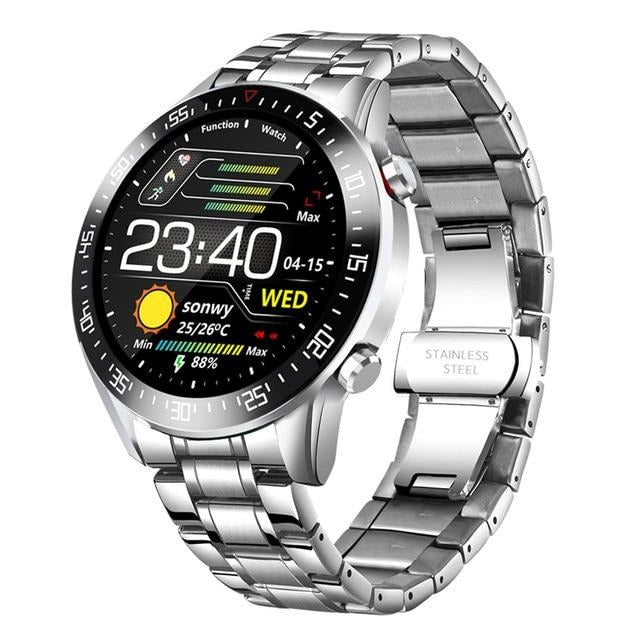 Smart Watch With Full Touch Screen And 24 hour instruction, IP68 Waterproof - GiftWorldStyle - Luxury Jewelry and Accessories