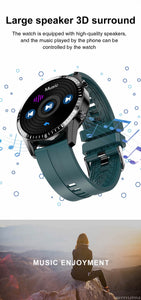 Smart Watch With Full Touch Screen And  Heart Rate Monitoring, Passometer - GiftWorldStyle - Luxury Jewelry and Accessories