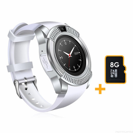Smart Watch With Camera And music Player And Full Touch Screen, Answer Call - GiftWorldStyle - Luxury Jewelry and Accessories