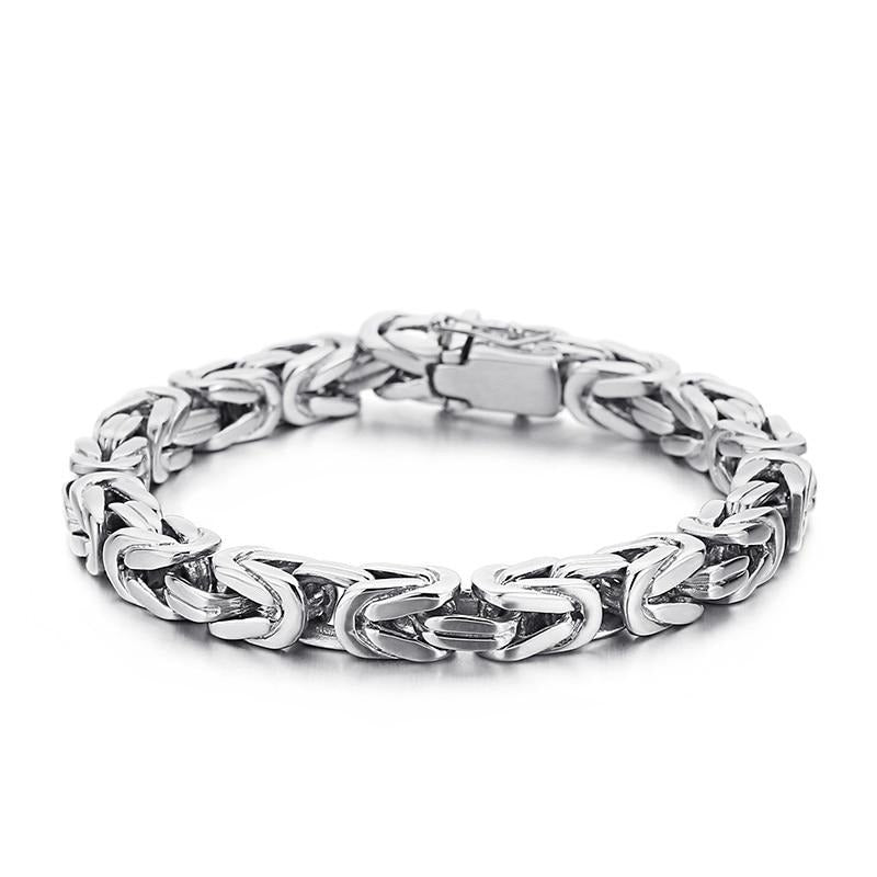 316L Stainless Steel Geometric Bracelet - GiftWorldStyle - Luxury Jewelry and Accessories