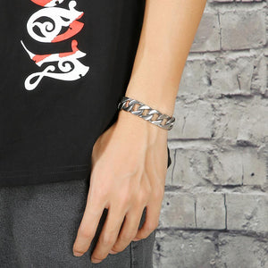 Brushed Stainless Steel Bracelet - GiftWorldStyle - Luxury Jewelry and Accessories