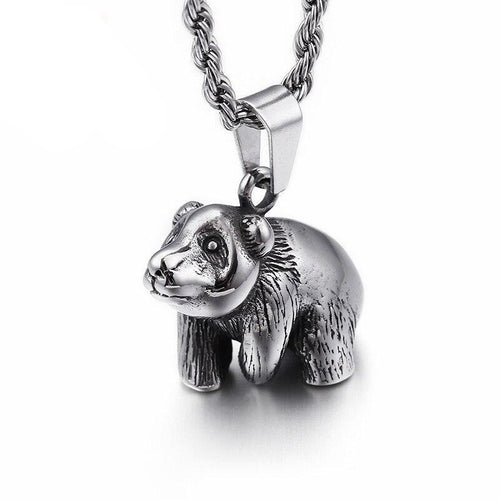 Animal Chubby Bear Necklace - GiftWorldStyle - Luxury Jewelry and Accessories