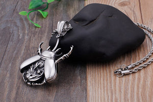 Rock Machine Insect Necklace - GiftWorldStyle - Luxury Jewelry and Accessories