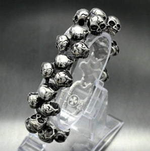 Men's Skull Ghost Bracelet - GiftWorldStyle - Luxury Jewelry and Accessories