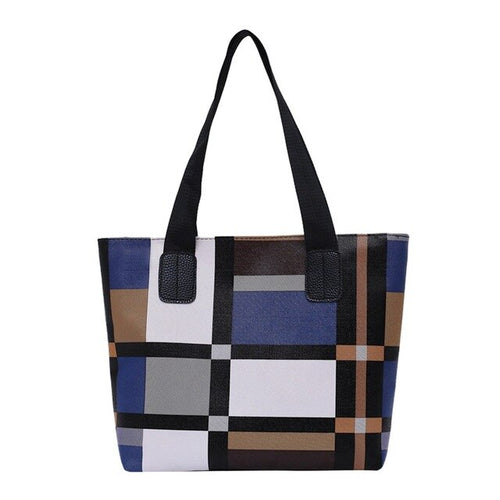 Women's Colorblock Handbag - Large Capacity - GiftWorldStyle - Luxury Jewelry and Accessories