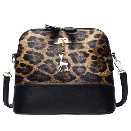 Leopard Print Crossbody Messenger Bags - GiftWorldStyle - Luxury Jewelry and Accessories