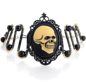 Antique Steampunk Bracelet With Various Skull Designs For Women - GiftWorldStyle - Luxury Jewelry and Accessories