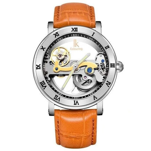 Automatic Mechanical Luxury Skeleton Transparent Watch - GiftWorldStyle - Luxury Jewelry and Accessories