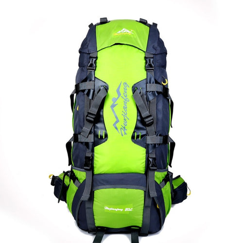 80L Large Outdoor Backpack Camping Travel Bag Hiking Unisex Rucksacks Waterproof Sport Bags Climbing - GiftWorldStyle - Luxury Jewelry and Accessories