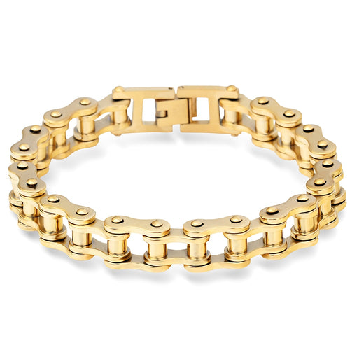 Golden Color Stainless Steel Bracelet - GiftWorldStyle - Luxury Jewelry and Accessories