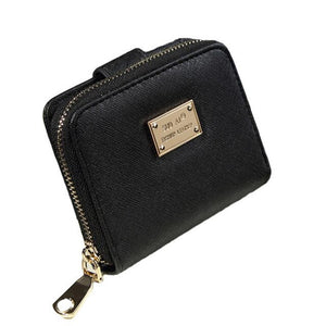 Vintage Zipper Women Short Wallet Women bag Wallet Women Clutch Small Coin Purse Female Money