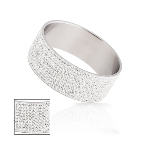 Bangles With Ten Row Crystal - GiftWorldStyle - Luxury Jewelry and Accessories