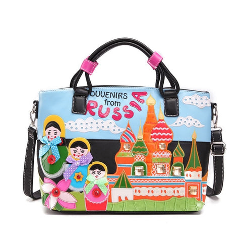 Cross Body Bag For Women With Cartoon